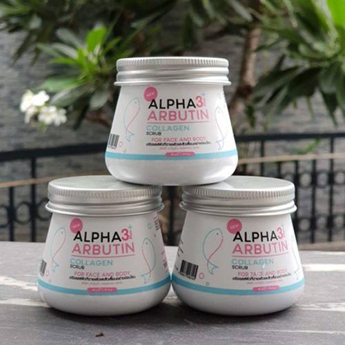 Tẩy Tế Bào Chết Mặt Và Body Alpha Arbutin Scrub 3+ Thái Lan