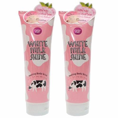 Tẩy Tế Bào Chết Toàn Thân Sữa Bò Cathy Doll White Milk Shine Peeling Body Scrub