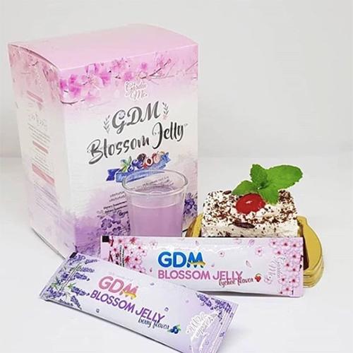 Thạch Uống Trắng Da và Giảm Cân GDM Blossom Jelly