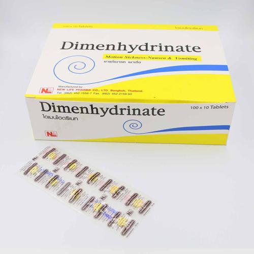 Thuốc Chống Say Xe Dimenhydrinate Thái Lan