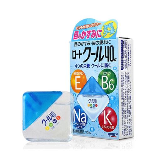 Thuốc Nhỏ Mắt Rohto Nhật bản Vita 40 bổ Sung Vitamin Nhật Bản