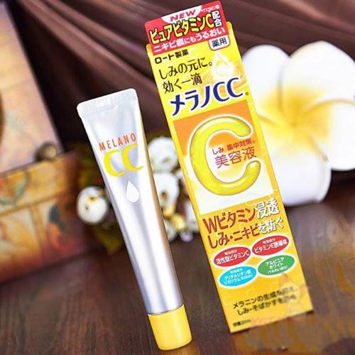 Tinh Chất Dưỡng Trắng Serum Melano CC Rohto Vitamin C 20ml Nhật Bản