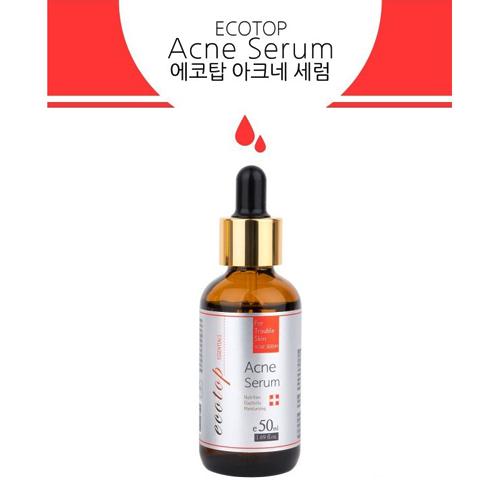 Tinh Chất Làm Giảm Và Ngăn Ngừa Mụn Ecotop Acne Serum 50ml Hàn Quốc