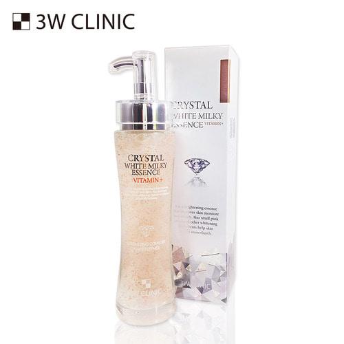 Tinh Chất Trắng Da CryTal White Milky Essence Vitamin 3w Clinic 150ml