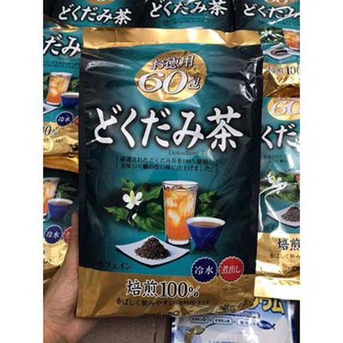 Trà Diếp Cá Mát Gan Thải Độc Orihiro Bịch 60 Túi Nhật Bản (Asobu)