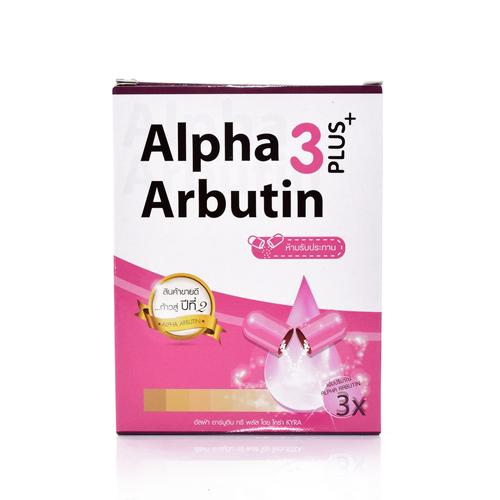 Vỉ Kích Trắng Alpha Arbutin 3 Plus+ Thái Lan
