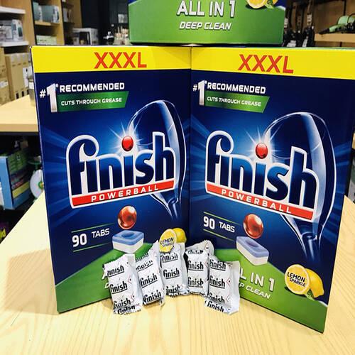 Viên Rửa Bát Finish All in One 90 Viên Nhập Khẩu Đức