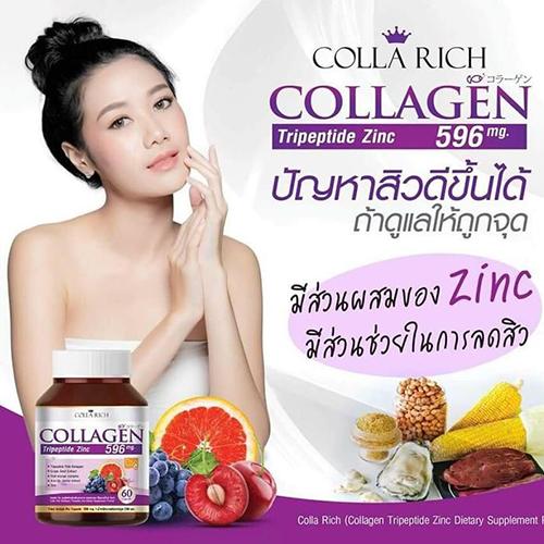 Viên Uống Collagen 596mg Thái Lan