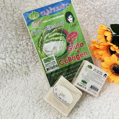 Xà Phòng Sữa Gạo Rửa Mặt Rice Milk Soap Thái Lan
