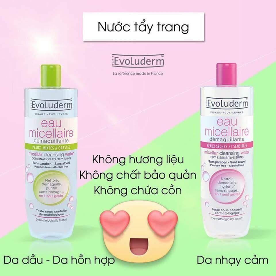 san-pham-khac-nuoc-tay-trang-evoluderm-eau-micrellaire-500ml-pháp-2467
